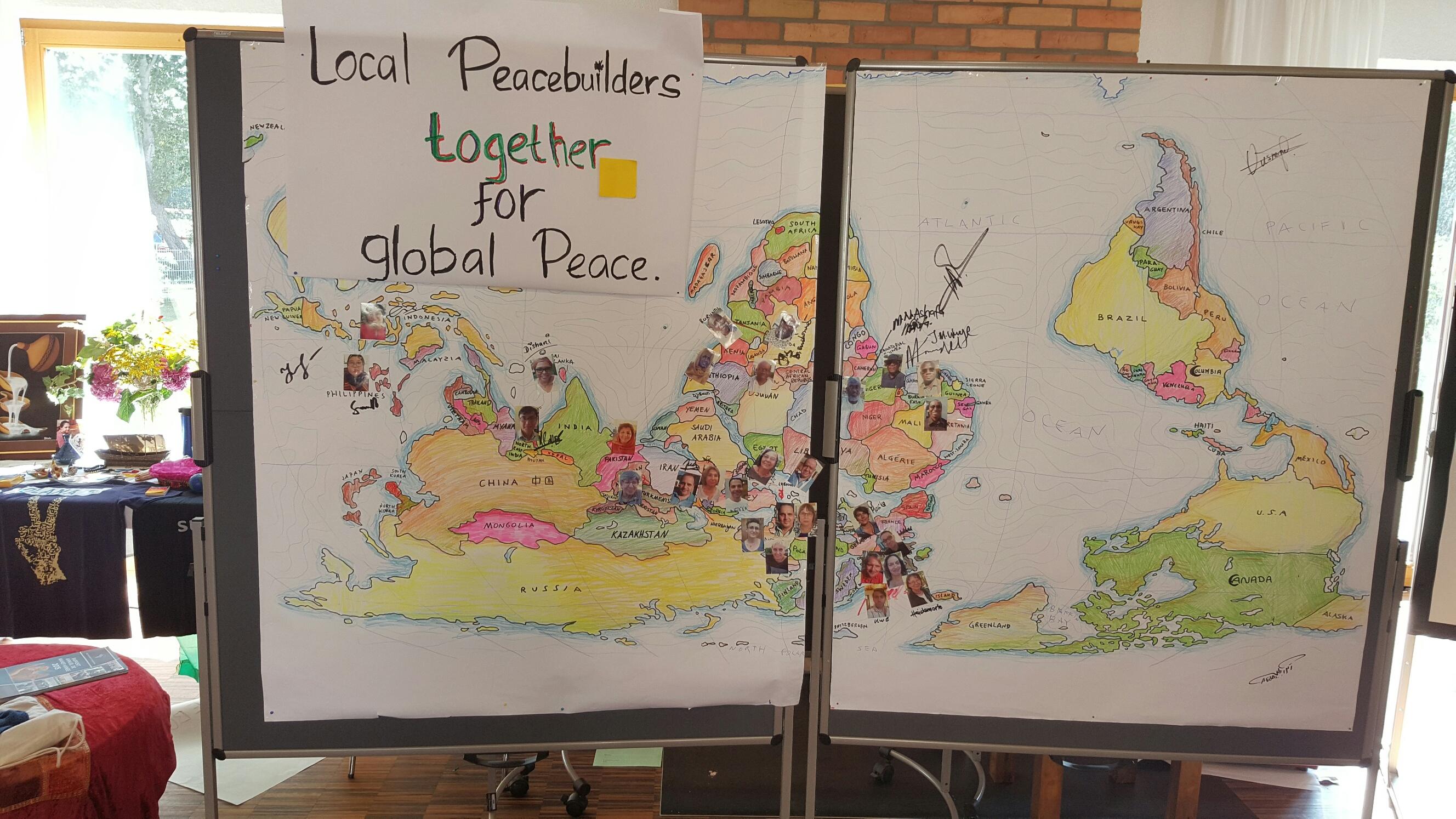 Global Peacebuilder Summit graphic