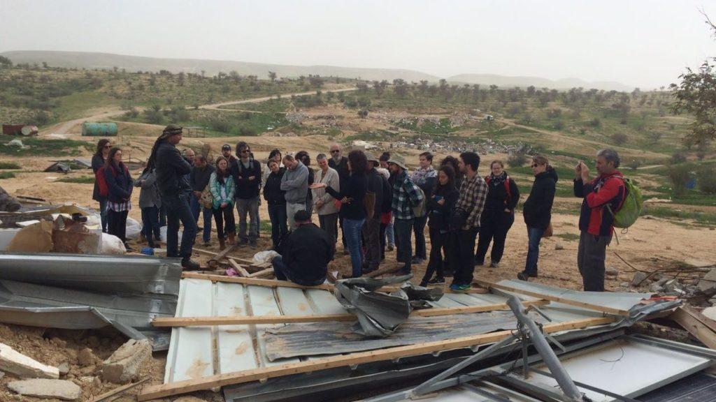 planners in Umm al-hiran